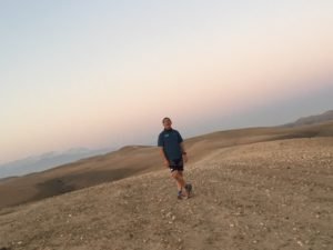 Running the Morocco Desert