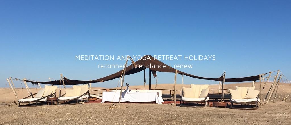 Meditation and Yoga Retreat Holidays Morocco