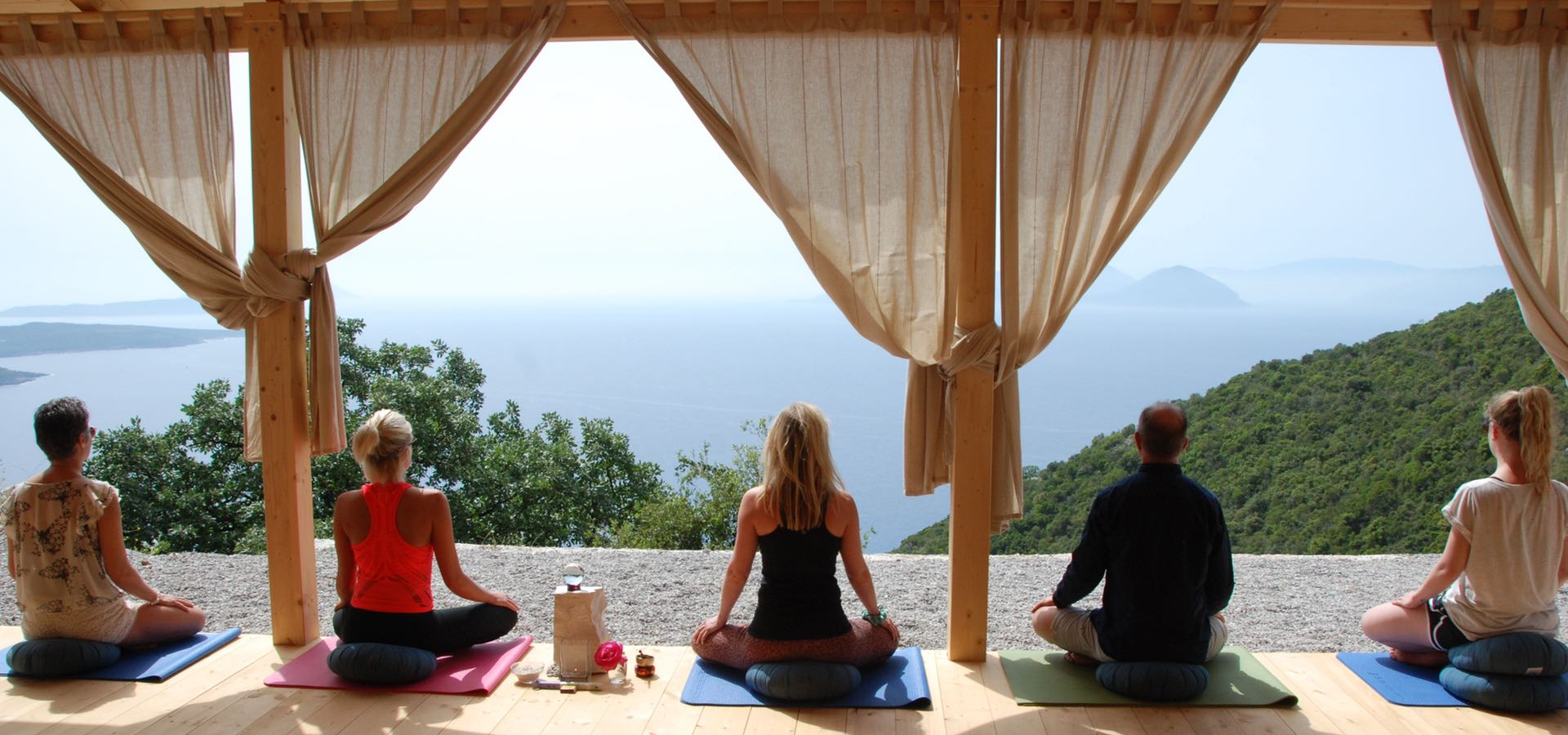 Learn the life-changing tools of meditation and yoga