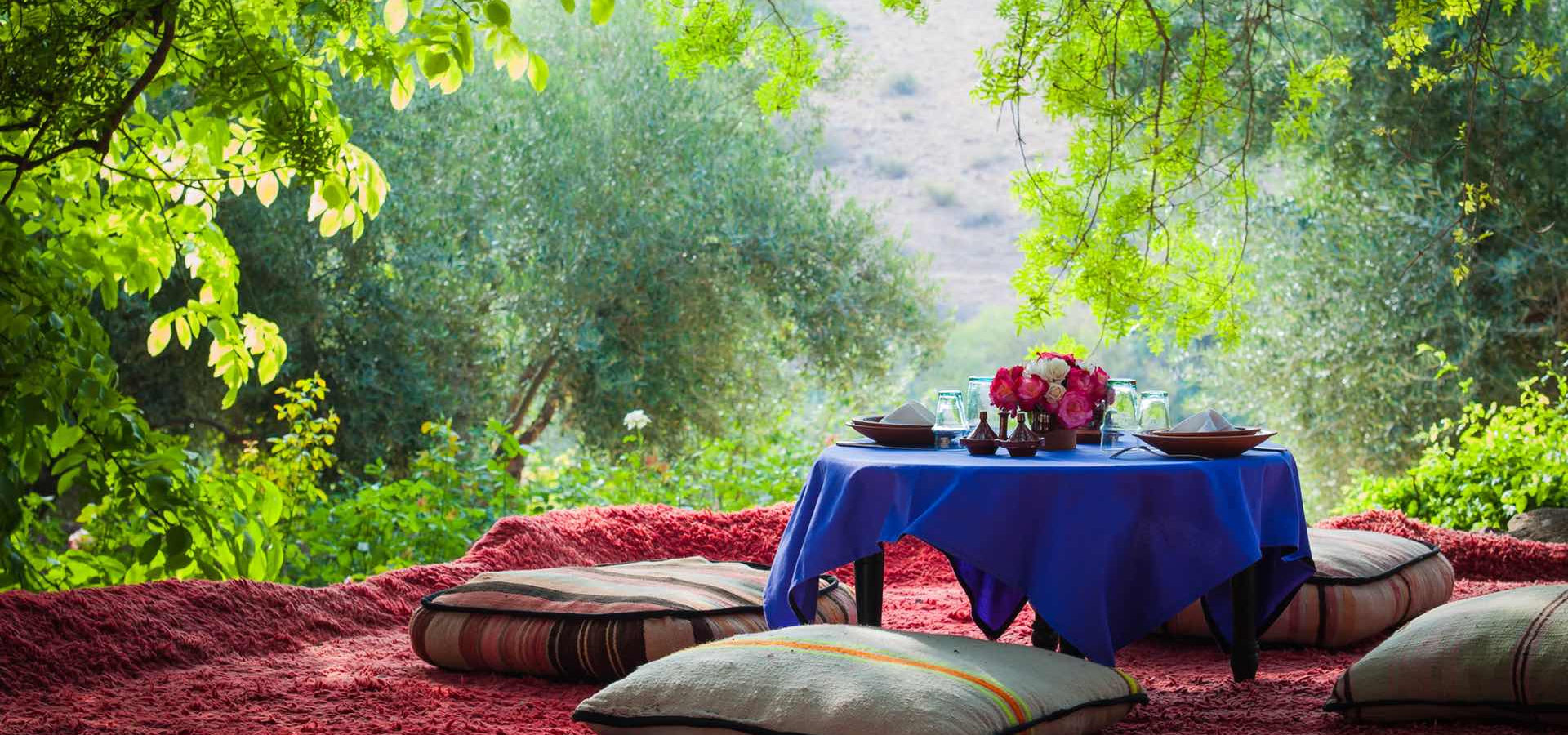 A Morocco retreat that does not compromise on style and delicious cuisine