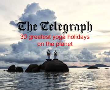 The Telegraph: 30 greatest yoga holidays on the planet