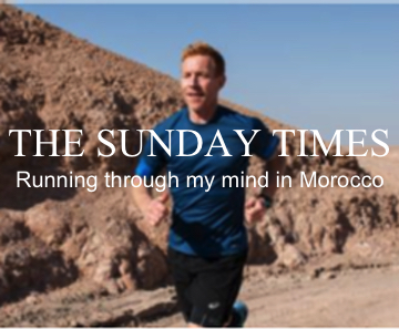 The Sunday Times: Running through my mind in Morocco
