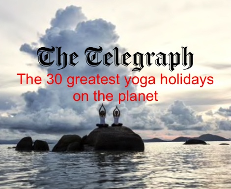 30 greatest yoga holidays
