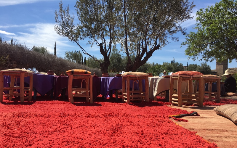 sound healing in Morocco