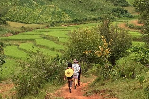 myanmar trek
