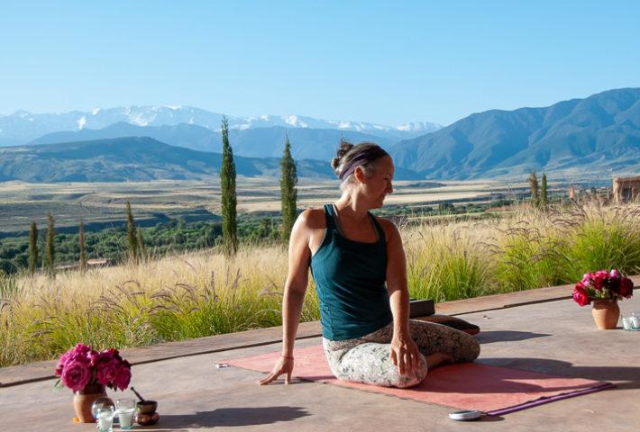 Yin Yoga in Morocco