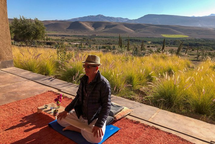 mindfulness retreat Morocco