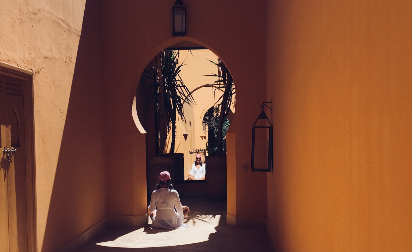 Meditation in Morocco